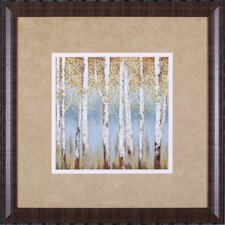 Falling Embers I Petite by Allison Pearce Framed Painting Print