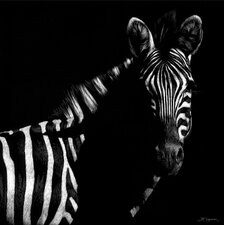Wildlife Scratchboards IV by Julie Chapman Painting Print on Canvas