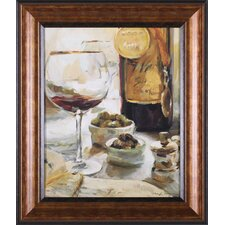 Award Winning Wine I by Marilyn Hageman Framed Painting Print