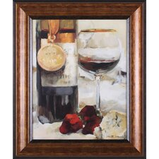 Award Winning Wine II by Marilyn Hageman Framed Painting Print