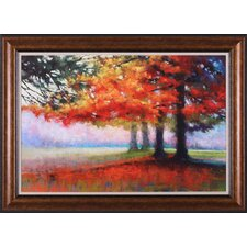 Orange Haven by Marla Baggetta Framed Painting Print