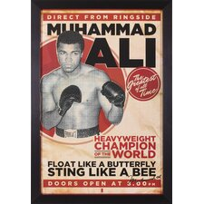 Ali Framed Vintage Advertisement