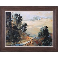 Santa Ynez Valley Morning by Ted Goerschner Framed Painting Print