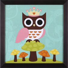 Princess Owl Framed Art