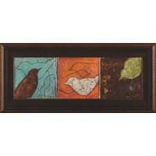 Lovely Birds I by Patricia Pinto Framed Painting Print