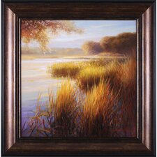 Sunlight on The Water by Stu Brity Framed Painting Print