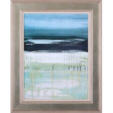 Sea and Sky I by Heather McAlpine Framed Painting Print