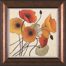 Pumpkin Poppies II Wall Art