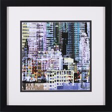 Waterfront 1 by James Burghardt Framed Graphic Art