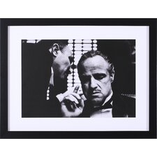 The Godfather by The Chelsea Collection Framed Photographic Print