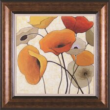 <strong>Art Effects</strong> Pumpkin Poppies III Wall Art