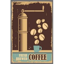 Vintage Art Ground Coffee Wall Art