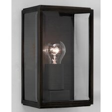 Homefield 1 Light Outdoor Wall Flush Light