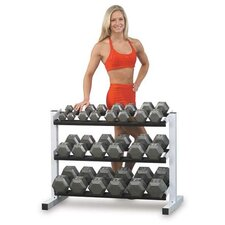 Grey Hex Dumbbell Sets