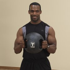 20 lbs Dual Grip Medicine Balls in Black