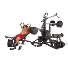 <strong>Body Solid</strong> Leverage Freeweight Home Gym Set