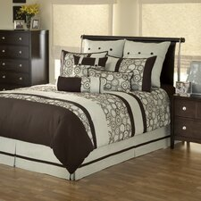 Delray Spa 4 Piece Comforter Set
