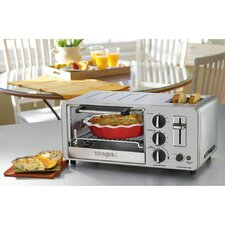 <strong>Waring</strong> Professional 0.45-Cubic Foot Combination Toaster Oven & Toaster