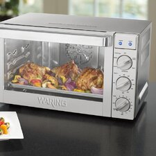 Commercial Countertop Convection Oven with Rotisserie