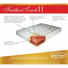 "<strong>Gold Bond</strong> Feather Touch 9"" Futon Mattress"
