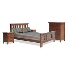 Kirkland Federation 4 Piece Queen Bedroom Suite