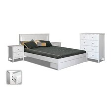 Avignon 4 Piece Queen Bedroom Suite