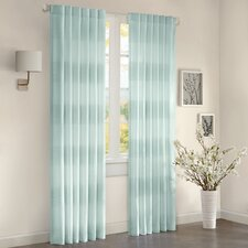 Fairwind Cotton Rod Pocket Window Curtain Single Panel