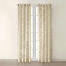 <strong>JLA Home</strong> Figaro Silk Grommet Window Curtain Single Panel