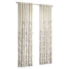Tunisia Rod Pocket Window Curtain Single Panel