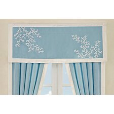 Coastline Cotton Curtain Valance