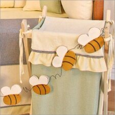 Bee My Baby Bee Garland Hanging Art