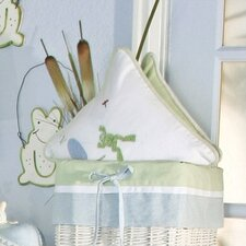 One Little Froggie Frog Decorator Pillow