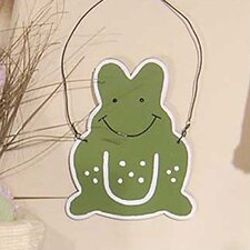 One Little Froggie Frog Hanging Art