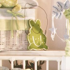 Sammy the Frog Frog Hanging Art