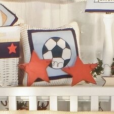 All Star Soccer Ball Decorator Pillow