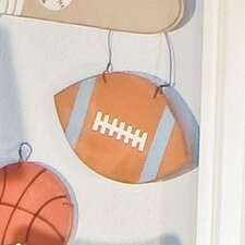 All Star Football Hanging Art