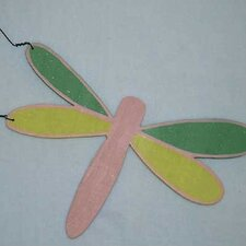 Babette Dragonfly Hanging Art