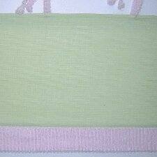 Froggy Pink Cotton Blend Tab Top Tailored Curtain Valance