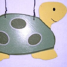 Ribbit Turtle Hanging Art