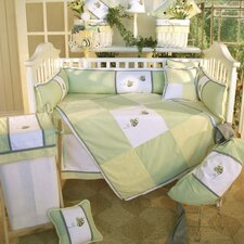 Flutter Bees 4 Piece Crib Bedding Set