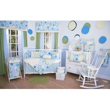 Minky Bubbles Crib Bedding Collection