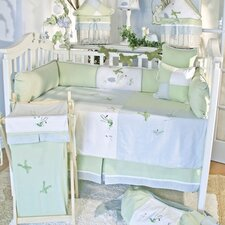 One Little Froggie 10 Piece Crib Bedding Set