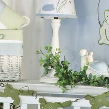 One Little Froggy White Candlesitck Lamp