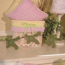 Froggy Frog Garland Hanging Art
