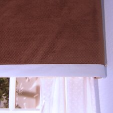 Blue Chocolate Cotton Valance