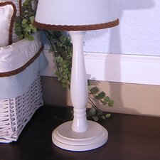 Blue Chocolate White Candlesitck Lamp Base