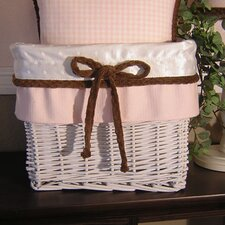 <strong>Brandee Danielle</strong> Pink Chocolate Wicker Basket