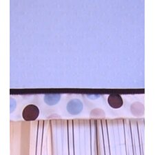 <strong>Brandee Danielle</strong> Ash Cotton Blend Curtain Valance