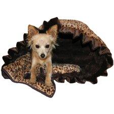 Snuggle Bug Reversible Cheetah Pet Carrier