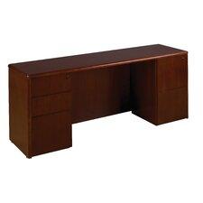 """Sonoma 66"""" W Kneespace Credenza Desk"""